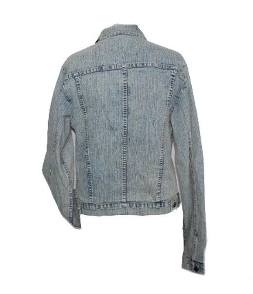 damen jeansjacke jacke jeansblazer blau helle tolle waschung 38 40 neu ebay. Black Bedroom Furniture Sets. Home Design Ideas
