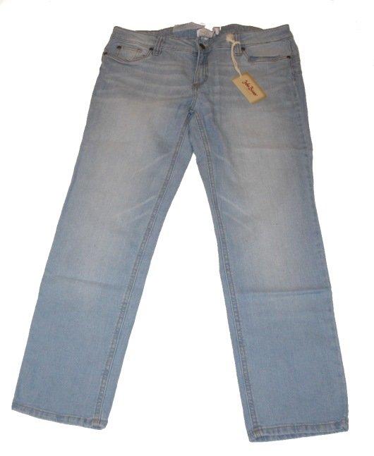 damen jeanshose jeans gerader schnitt helle waschung blau john baner gr 21 neu ebay. Black Bedroom Furniture Sets. Home Design Ideas
